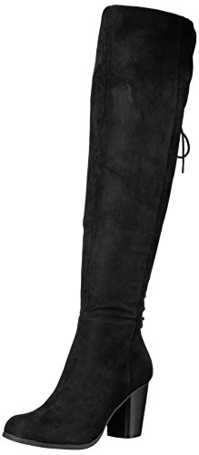 Black Fabric Boot Districtt girl madden Slouch Women's 4qq7wv