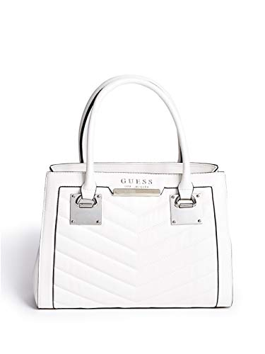 GUESS Factory Women's Dustin Quilted Satchel