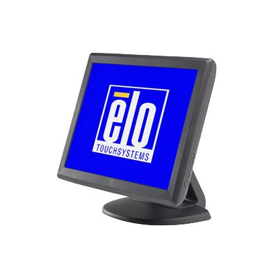 Elo 1000 Series 1515L Touch Screen Monitor - 15 - Surface Acoustic Wave - 1024 x 768 - 4:3 - Dark Gray - DUAL SER/USB Power Brick sold separately