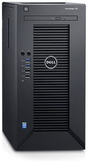 2018 Newest Flagship Dell PowerEdge T30 Business Mini Tower Server System – Intel Quad-Core Xeon E3-1225 v5 8M Cache, 16GB UDIMM RAM, 3TB HDD, DVD -RW, HDMI, No Operating System – Black
