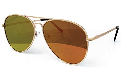 O2 Eyewear Oversized Mirrored Sunglass product image