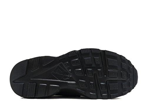 Nike Jungen Huarache Run (GS) Laufschuhe Schwarz (016 BLACK/BLACK-BLACK)