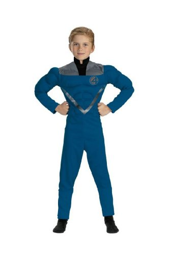 Mr Fantastic Muscle Costume Child Size