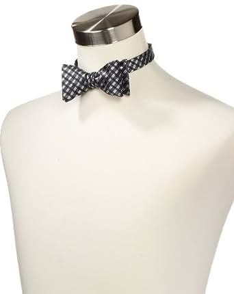 Countess Mara Men's Lurex Neat Bow Tie, Black, One Size