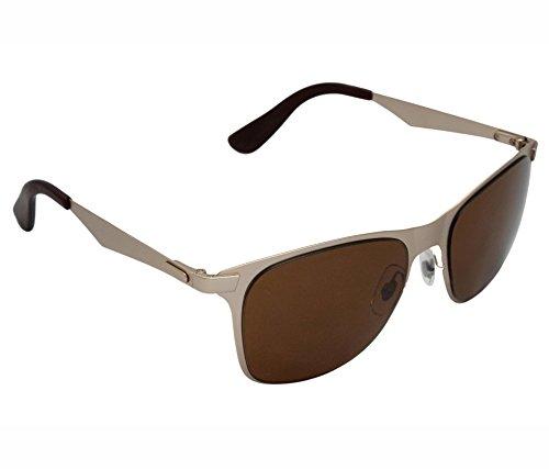 a2e1c117a1 IRYZ EYEWEAR Unisex Wayfarer Sunglasses (Brown