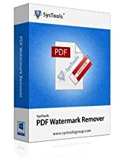 SysTools PDF Watermark Remover (Email Delivery-No CD)