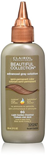 (Clairol Professional Beautiful Collection Semi-permanent Hair Color, Light Golden Chestnut, 3)