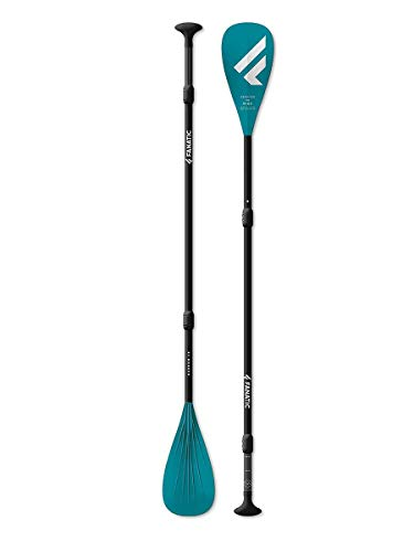 Fanatic Carbon25 Adjustable 3-Piece SUP Stand Up Paddle Boarding Paddle – For Packages – Blade Width – 8″ / 20.3 cm