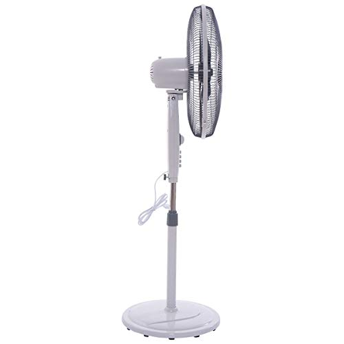 20'' Oscillating Standing Floor Fan by Apontus