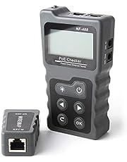 Groteen kabeltester meter netwerkkabeltester RJ45 patchkabel tester LAN netwerktester leidingstester Ethernet network kabel tester PoE Checker
