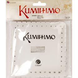 Bulk Buy: Cousin Beads (3-Pack) Kumihimo Braiding Loom 5.375\' 1/Pkg Square 34745-034