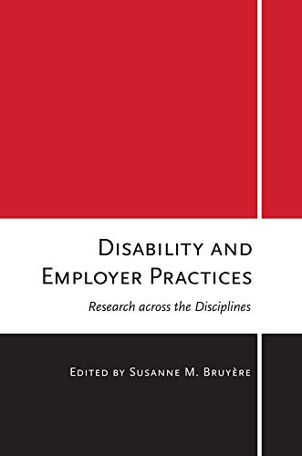 Disability and Employer Practices: Research across the Disciplines (Bruyere Usa)