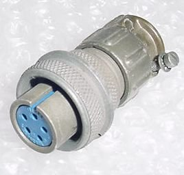 MS3106A-14S-5SC, Airplane Amphenol Cannon Plug Connector -Rev