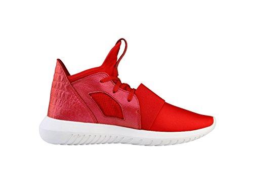adidasAdidas Tubular Defiant W - Jazz & Modern mujer rojo y blanco