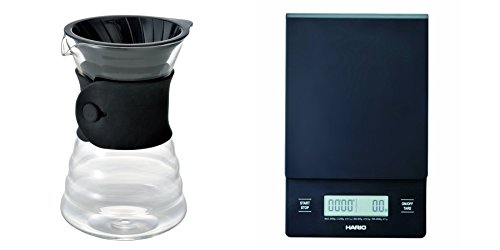 Hario V60 Drip Scale and Drip Decanter Sets Sold Together