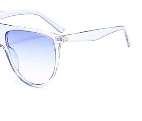 Sky blue PC moda al Las protección sol conducir para Frame mujeres libre de de gafas gafas Guay viajar UV400 Huyizhi de aire para qw1gB