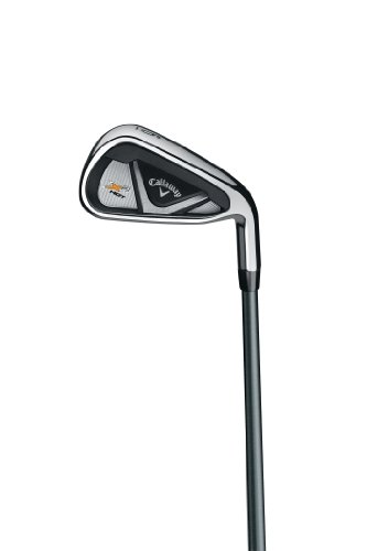 (Callaway Men's X2 Hot Individual Iron, Left Hand, Graphite, Regular, 6 Iron)