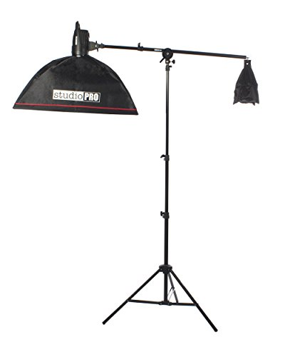 (Fovitec StudioPRO 100W/s Monolight Strobe Boom Arm With 20
