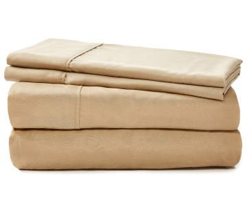 Lexington 2800 Organic And Bamboo Egyptian Cotton Bed Sheets  6PCs Fits  Extra Thick Mattress (