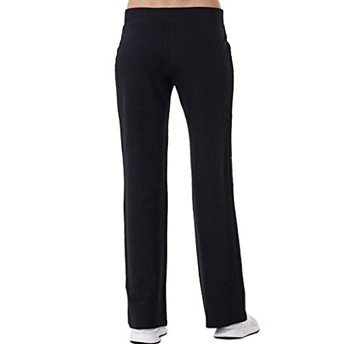 VEZAD Women Stretch Tracksuit Bottoms Sports Pants Tummy Control Running Legging