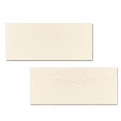 Neenah Paper 65571 Neenah Classic Crest Stationery Envelopes, #10, Baronial Ivory, 500/Box