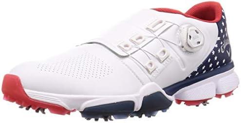 メンズ ゴルフシューズ 軽量 (BOA システム) [ 247-0983500 / CALLAWAY HYPERCHEV BOA ] ゴルフ 靴