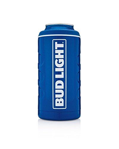 Bud Light Brumate Hopsulator Stainless Steel Can Insulator ()