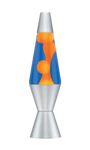 Lava Lamp 14.5 Inch Lamp In Orange/Blue, Aluminium,