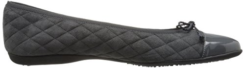Fs Grey Ballet Ny French Passportr Flat Sole Women's AwUU5x