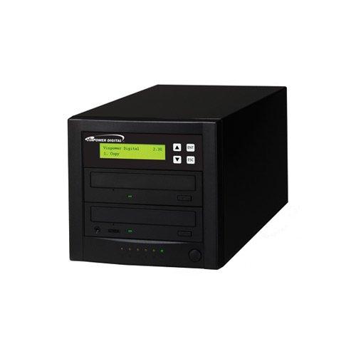 Vinpower Digital Econ-S1T-DVD-BK Econ Series 1 to 1 Target 24 x DVD CD Disc Duplicator Tower SATA Optical Drives - Black by Vinpower Digital