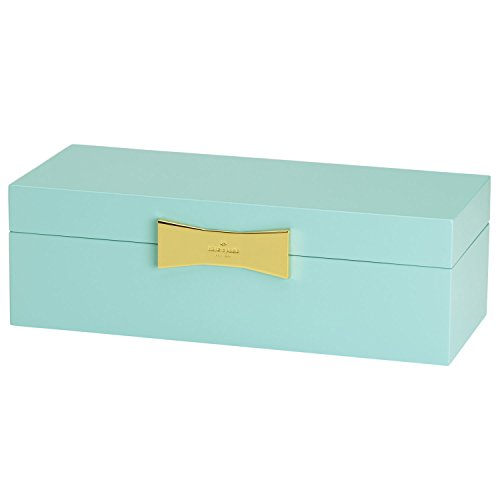 Kate Spade New York Garden Drive Large Rectangular Jewelry Box, Turquoise