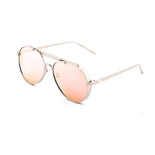Gafas hombre TWIG sol espejo Oro Rosa mujer gradiente aviador de MUNCH FrF1q40O