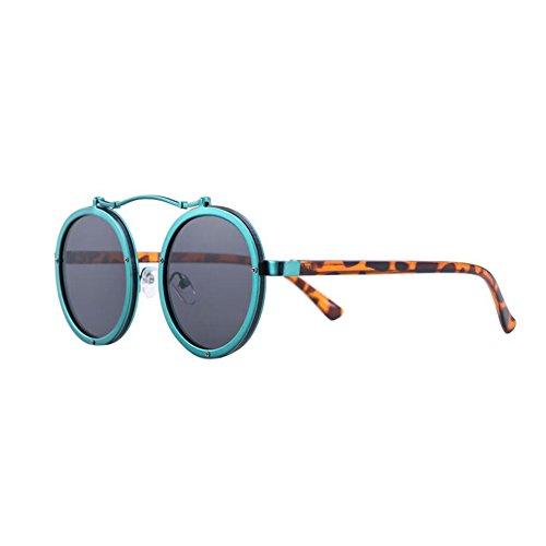 4daaf306e3 Bueno wreapped HONEY Gafas de sol polarizadas marco redondo personalizado,  lente HD a prueba de