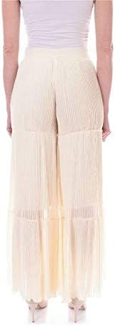 Fashion | Twin-Set Woman 201TT209400245 White Polyester Pants | Spring Summer 20