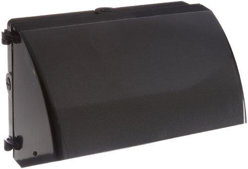 RAB Lighting WP2CSH150QT WP2 Cutoff Metal Halide Wallpack, ED17 Type, Aluminum, 150W Power, 16000 Lumens, 277V, HX-HPF QT Ballast, Bronze Color -
