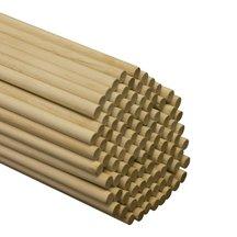 500 Pcs, 7/16'' X 36'' Birch Wood Dowels Hardwood by SNS