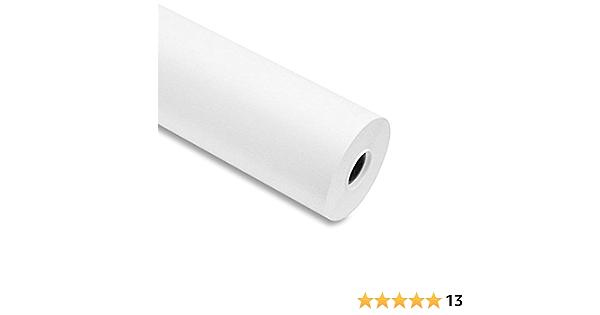 Papel para plóter, 90 g/m², 61cm x 50 m color blanco para Plotter EPSON y HP: Amazon.es: Hogar