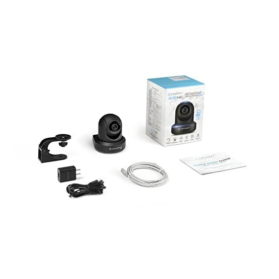 Amcrest UltraHD 2K (3MP/2304TVL) WiFi Video Security IP Camera with Pan/Tilt, Dual Band 5ghz/2.4ghz, Two-Way Audio, 3…
