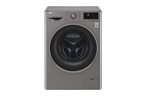 LG F4J6TY8S Independiente Carga frontal 8kg 1400RPM A+++-30% Negro ...