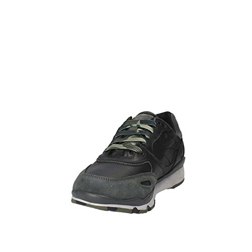 Hombre Geox Anthracitec9270 U Gris a B Sandford Black ABX para Zapatillas v0Tv7P