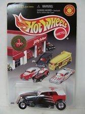 Hot Wheels - Special Edition - Jiffy Lube Signature Service Series - Phaeton - 1:64 Scale Classic Car Replica. Black & Orange Body w/White Top