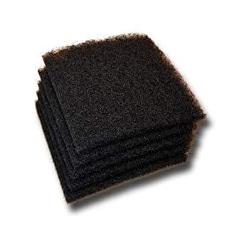 Black Course Filter Media - 5 Pack - 1