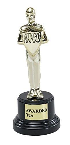 Bristol Novelty GJ143 Movie Award Party Accessory Set, Gold/Black, One -