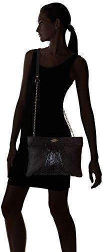 Mohekann Xl Narowe - bolso de mano Mujer Noir (Abyssal)