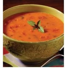 Campbells Creamy Tomato Basil Bisque Soup, 4 Pound -- 3 per case.