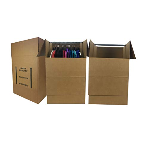 uBoxes Wardrobe Moving Boxes