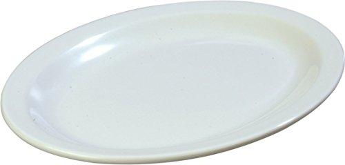 Carlisle KL12702 Kingline Melamine Oval Platter, 11.99 x 8.98 x 1.20