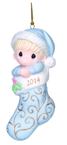 Precious Moments Company Dated 2014 Baby Boy Ornament