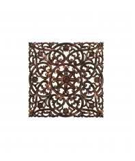 Regal Art   Gift Carved Square Wall Decor 24    Black
