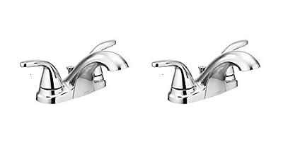 Moen 84603 Adler Chrome Two Handle Bathroom Faucet 4 in. Centerset 2
